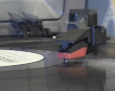 Vinyl record — Stock Video