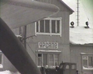 Newsreel of the USSR. — Stock Video