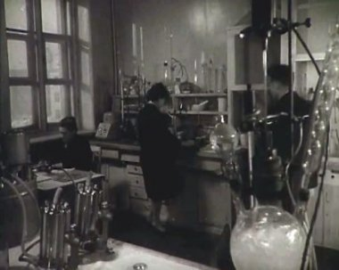 Chemical laboratory. — Stock Video