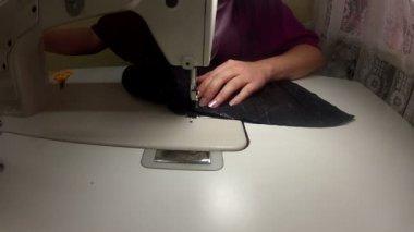 缝纫机 — 图库视频影像