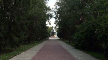 Ekaterimburgo. las atracciones de la ciudad. — Vídeo de stock
