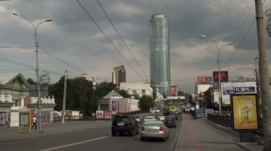 Yekaterinburg. The sights of the city. — Stock Video