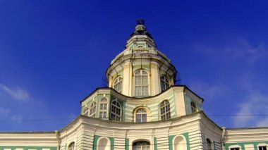 Kunstkamera. Museum of anthropology and Ethnography in St. Petersburg. — Stock Video
