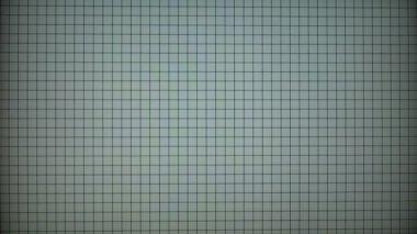 Monitor calibration test screen — Stock Video