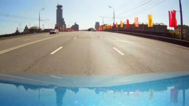 Travel on the Moscow avenues — Stock Video