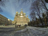 Church of St. Peter and Paul Church, Peterhof, Saint Petersburg, Russia — Stock Photo