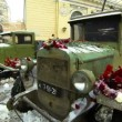 Military Truck, Leningrad Blockade — Stock Video #41298997