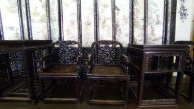 Antique Furniture — Stock Video