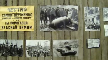 Pictures Of The Siege Of Leningrad — Stock Video
