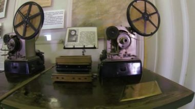 Old Telegraph. Transmitter During The First World War — Stok video