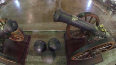 Ancient Gun, Firing Cores 2.7K — Stock Video
