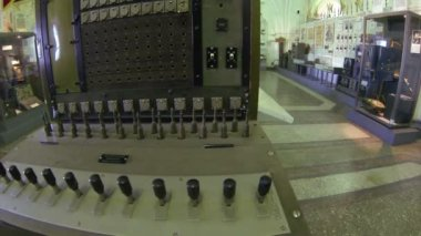 Telephone Switchboard — Stock Video