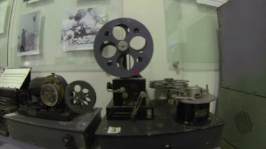 Old Telegraph. Transmitter During The First World War — Stock Video
