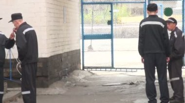 Prison Zone Camp For Prisoners — Stock Video