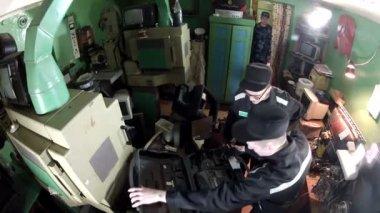 оператор камеры — Стоковое видео