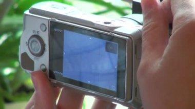 Operador de câmera — Vídeo Stock