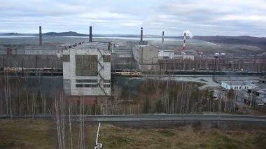 Fabriken — Stockvideo