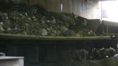 Coal loading — Stock Video