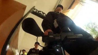 Kameramann — Stockvideo