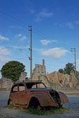 Oradour-sur-Glane, Village martyr, France — Stock Photo