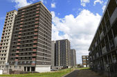 Tower block council housing in the UK — Stock Photo