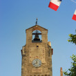 Clock Tower, Dieulefit, Provence, France - Stock Photo