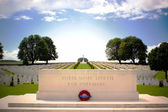 First World War Cemetery near Arras, Northern France — Stock Photo