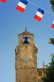 钟塔、 dieulefit、 普罗旺斯、 法国 — 图库照片