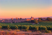 Carcassonne at Sunrise — Stock Photo