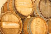 Balsamic vinegar casks, Provence, France — Stock Photo