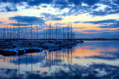 Lac de Orient at Sunset — Stock Photo