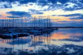 Lac de orientu při západu slunce — Stock fotografie