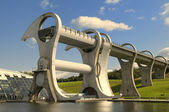 The Falkirk Wheel, Scotland. — Stock Photo