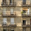 Apartment Building, Barcelona — Stock Photo