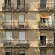 Stock Photo: Apartment Building, Barcelona