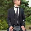 Stock Photo: Scotsman in a Kilt
