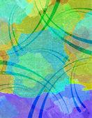 Resumen de fondo con manchas de color — Foto de Stock