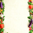 Frame of vegetables — Stock Photo #16879657