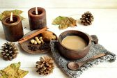 Spiced tea with spices — Stock Photo