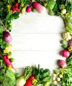 Green fresh vegetables — Stock Photo