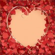 Royalty-Free Stock Imagem Vetorial: Romantic background