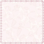 Gentle pink background — Stock Vector
