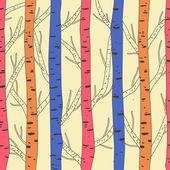 лес — Cтоковый вектор
