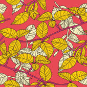 Parlak yapraklar — Stok Vektör