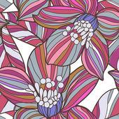 Seamless floral texture — Stock Vector