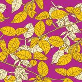 Lumineux leafs — Vecteur