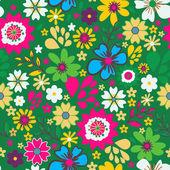 Pequeñas flores — Vector de stock