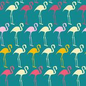 Flamingos — Stock Vector