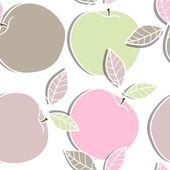 äpplen — Stockvektor