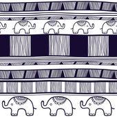 Struttura tribale — Vettoriale Stock